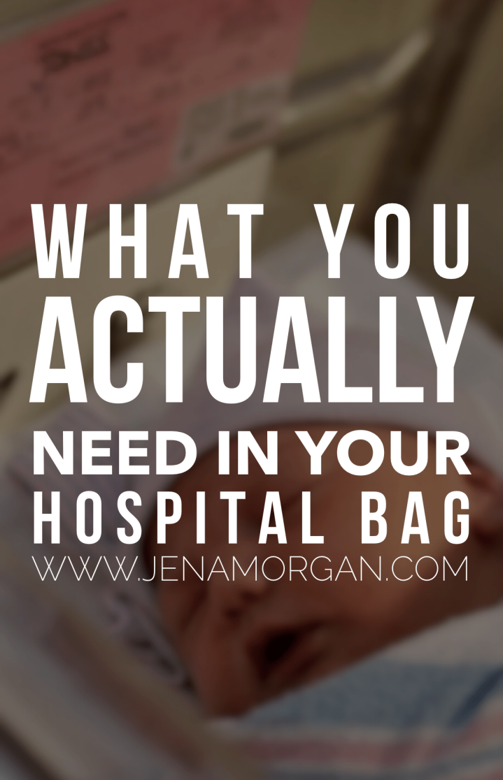 What You ACTUALLY Need In Your Hospital Bag